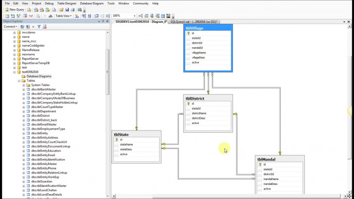 Permalink to Create New Database Diagrams within Create Database Diagram