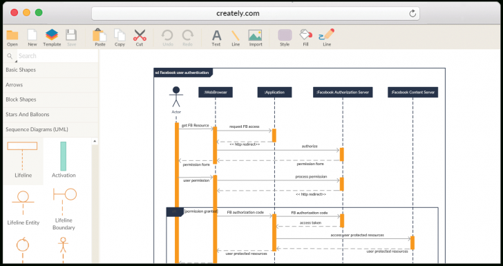 Permalink to Create Sequence Diagrams Online | Sequence Diagram Tool pertaining to Draw Diagram Online