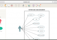 Create Use Case Diagrams Online With Use Case Diagram Tool with regard to Er Diagram Examples For Travel Agency