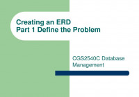 Creating An Erd Part 1 Define The Problem throughout Define Erd