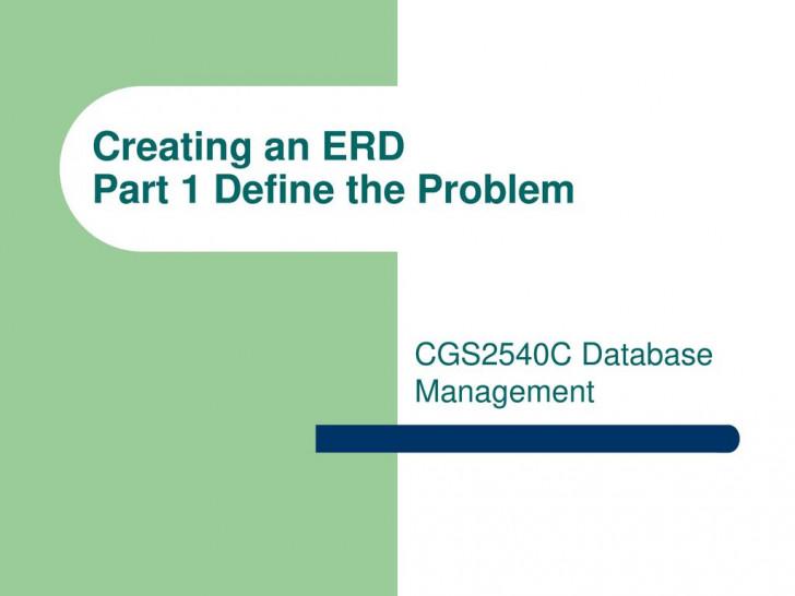 Permalink to Creating An Erd Part 1 Define The Problem throughout Define Erd