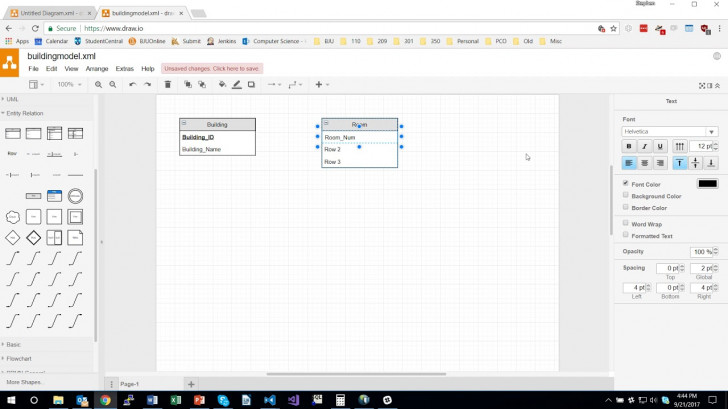 Permalink to Creating Database Models Using Draw.io throughout How To Draw Database Schema