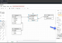 Creating Entity Relationship Diagrams Using Draw.io for Er Diagram 1 To 1 Relationship