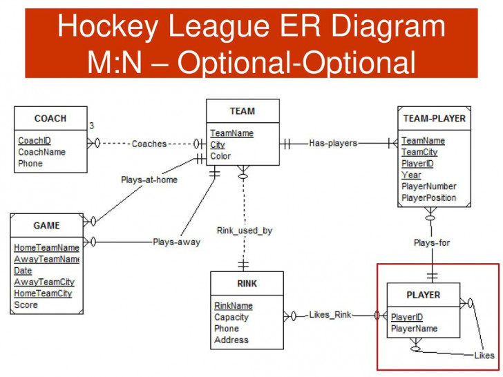 Permalink to Csis 115 Database Design And Applications For Business – Ppt with Er Diagram Nhl