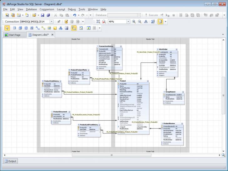 Permalink to Инструменты Для Работы С Диаграммами Баз Данных Sql Server intended for Sql Database Diagram