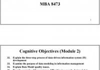 Data Modeling: Part 1. Entity Relationship (Er) Model – Pdf regarding Explain Er Model