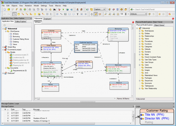 Permalink to Data Modeling Tools Elegant Erd Diagram Postgresql throughout Er Diagram Postgresql