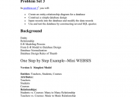 Database Design–From E-R Diagram To Sql Statement Problem Set 3 pertaining to Er Diagram With Problem Statement