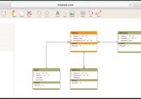 Database Design Tool | Create Database Diagrams Online within Database Schema Diagram Tutorial