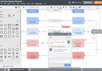 Database Design Tool | Lucidchart inside Create A Database Schema Diagram