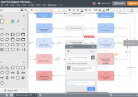 Database Design Tool | Lucidchart with regard to How To Create Database Design Diagram