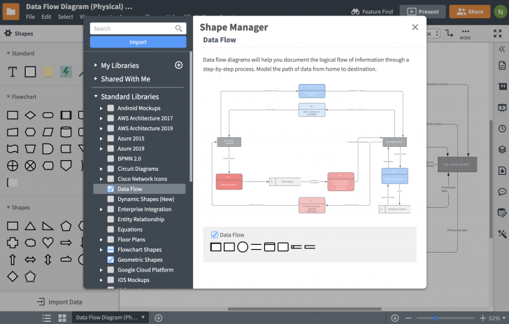 Permalink to Database Design Tool | Lucidchart with Tool To Create Database Diagram