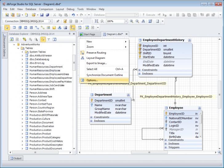 Permalink to Database Diagram Tool For Sql Server throughout Er Diagram In Sql