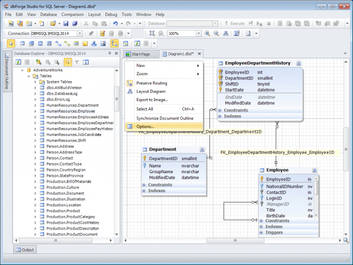 Permalink to Database Diagram Tool For Sql Server within Sql Relationship Diagram