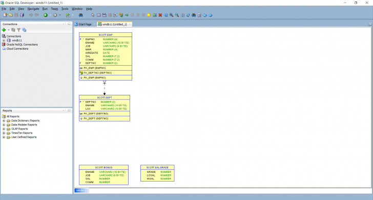 Permalink to Database Diagram Using Sql Developer – Blog Dbi Services with Er Diagram Sql Developer