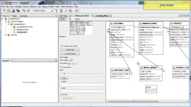 Permalink to Database Er Diagram Viewer's Features intended for Er Diagram Using Dbvisualizer