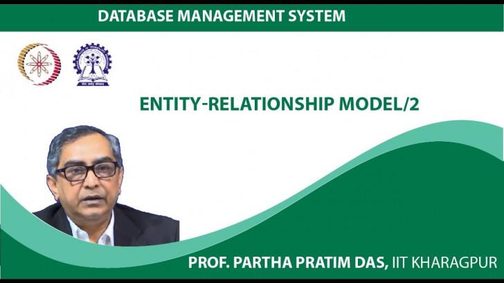 Permalink to Database Management System (Prof. Partha Pratim Das, Iit intended for Er Diagram Nptel