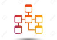 Database Sign Icon On Relational Database Schema Symbol with regard to Database Schema Symbols