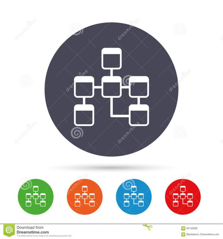 Permalink to Database Sign Icon. Relational Database Schema. Stock Vector regarding Relational Database Symbols