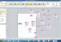 Database – Visio Erd Cannot Fit In A4 – Super User within Er Diagram Tool Visio