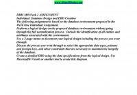 Dbm 380 Week 2 Individual Assignment Database Design And Erd inside Database Design And Erd Creation