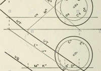Descriptive Geometry . Er, As In The Ellipsoid, Fig. 291 intended for Er Diagram Double Circle