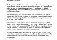 Develop An Er Diagram With Entities, Relationships throughout Er Diagram In – Dance Class