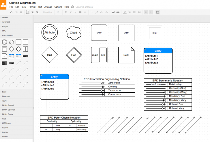 Permalink to Draw Er Diagram Tool Free – Technical Diagrams pertaining to Er Drawing Tool