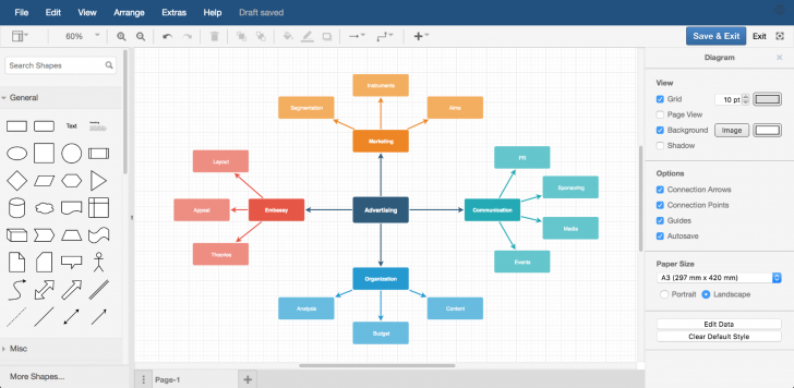 Permalink to Draw.io Diagrams For Confluence | Atlassian Marketplace within Er Diagram In Draw.io