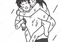 Drawings: Girlfriend And Boyfriend | Man Carry His regarding Relationship Drawings