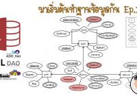 มาเริ่มต้นทำฐานข้อมูลกัน: Ep.1 (เขียน Er Diagram) for Er ไดอะแกรม