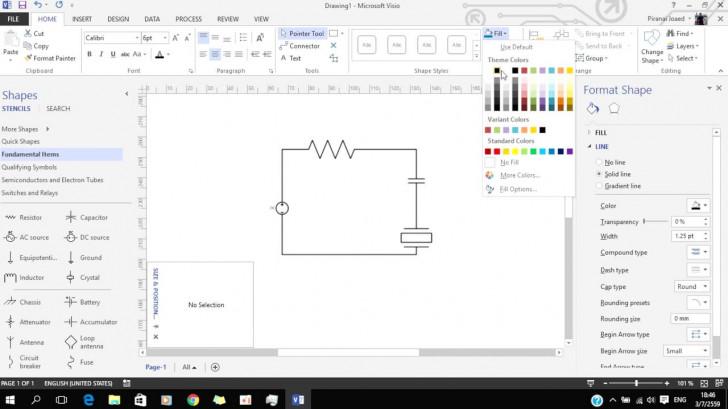 Permalink to สอนการใช้งาน Visio 1 เบื้องต้น – Video.sportnk in Er Diagram Visio 2007