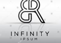 Elegant Minimal Symbol Alphabet Er Letter Stock Vector throughout Er Symbol