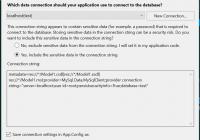 Entity Data Model Wizard Вылетает – Stack Overflow На Русском within Entity Data Model
