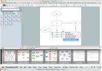 Entity Relationship Diagram | Design Element — Chen within Er Diagram 0 N
