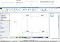 Entity Relationship Diagram | Design Element — Crows Foot for Conceptual Er Diagram Examples