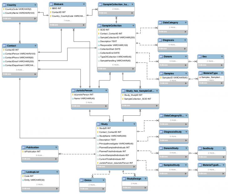 Permalink to Entity-Relationship Diagram (Erd) – Bbmri Wiki within Erd Wiki