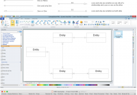 Entity Relationship Diagram – Erd – Software For Design in Er Diagram Visio 2017