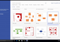Entity-Relationship Diagram Model With Visio inside Er Diagram Visio Template