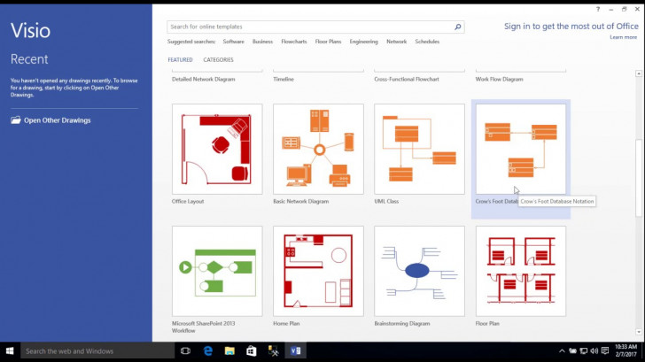 Permalink to Entity-Relationship Diagram Model With Visio inside Er Diagram Visio Template