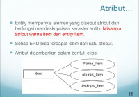 Entity Relationship Diagram – Ppt Download intended for Simbol Er Diagram Yg Berbentuk Elips