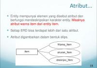 Entity Relationship Diagram – Ppt Download with Simbol Er Diagram Yang Berbentuk Elips