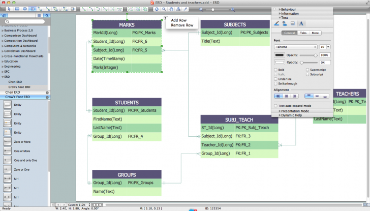 Permalink to Entity Relationship Diagram Software Engineering with regard to Draw Erd Diagram Online Free