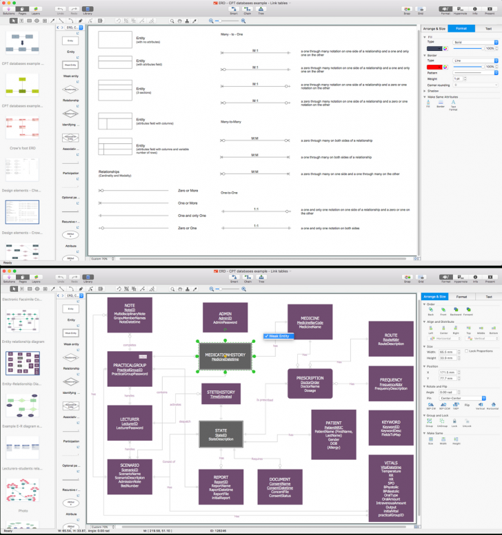 Permalink to Entity Relationship Diagram Software For Mac | Entity intended for Er Diagram Mac