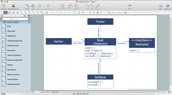 Permalink to Entity Relationship Diagram Software | Professional Erd Drawing with regard to Er Diagram Derived Attribute