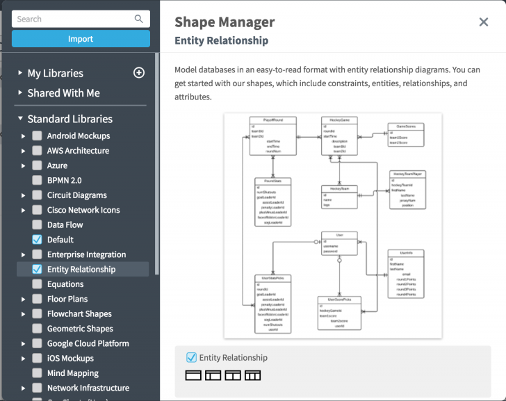 Permalink to Entity Relationship Diagrams – Lucidchart intended for How To Create An Entity Relationship Diagram In Access