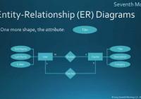 Entity-Relationship Diagrams throughout Relationship Diagram
