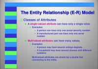 Entity Relationship (E-R) Model – Ppt Video Online Download with One To One Entity Relationship