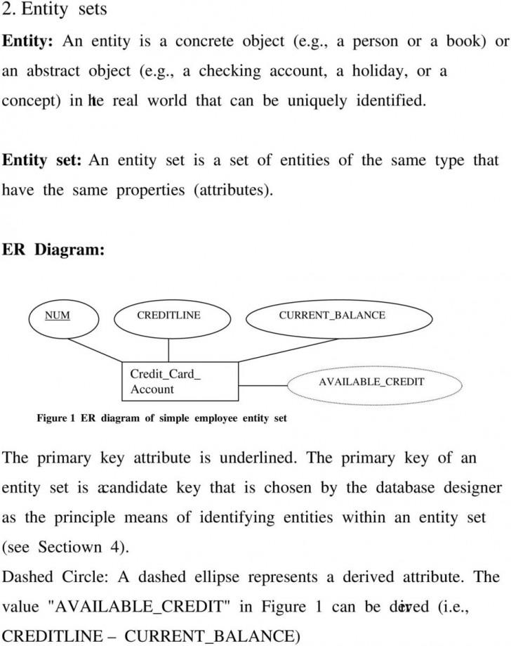 Permalink to Entity-Relationship (Er) Model. 1. Background (Five Levels with Er Diagram Entity Set