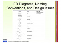 Entity- Relationship (Er) Model – Ppt Download with regard to Er Diagram Conventions